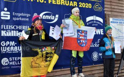 Anna-Fay Scharfenberg gewinnt Deutschen Schülercup  in Johanngeorgenstadt